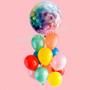 Disco vibe balloon bouquet