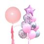 Light Pink Party balloon bouquet