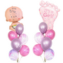 It's a girl balloon bouquet bundle