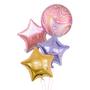 Chic Marble orbz balloon bouquet