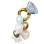 Diamond ring  & proposal balloon bouquet
