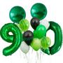 Emerald green balloons bundle