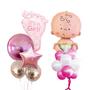 It's a girl balloon bouquet set