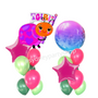 It's Ba-bee girl balloon set