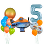 Licensed Disney planes balloon set