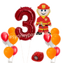 Fireman themed party package