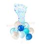 It's a boy blue balloon bouquet