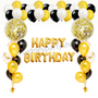 Happy birthday balloon party package