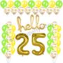 Hello birthday party balloon set