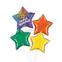 Birthday for the star balloon bouquet