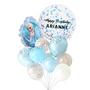Personalized Elsa Frozen balloon bouquet