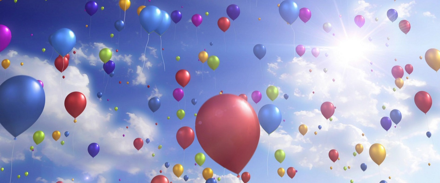 """5 x 16/"""" SPRAYS COLOR PARTY BALLOON **FREE WRAPPING**"""