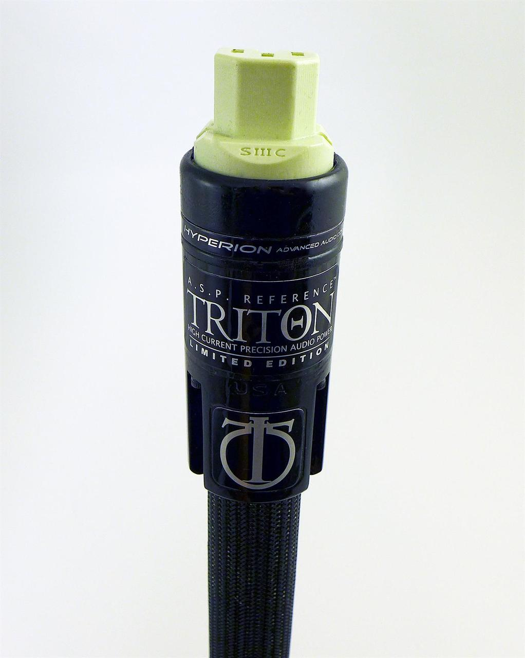 True Audiophile | Stage III  Triton Reference Audio Power Cord 1.5 Meter