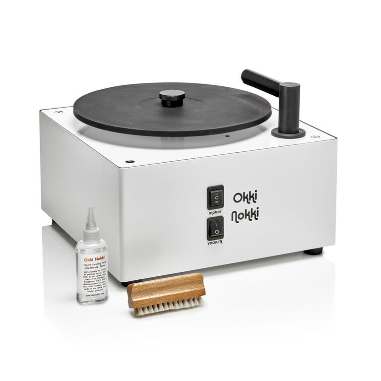 Okki Nokki Record Cleaner MkII. New internal design. At True Audiophile