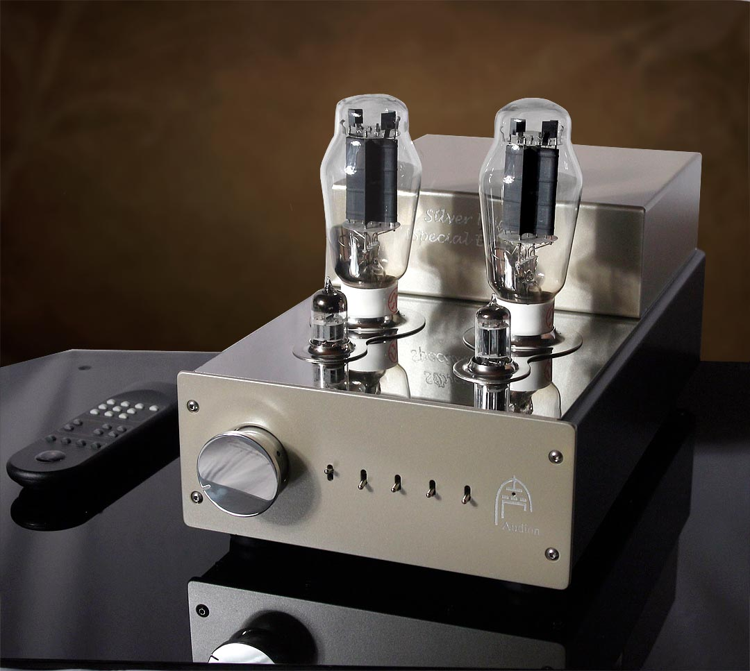 Audion Silver Night Special Edition Integrated 300B with Volume Remote. Now at True Audiophile. Exclusive U.S.