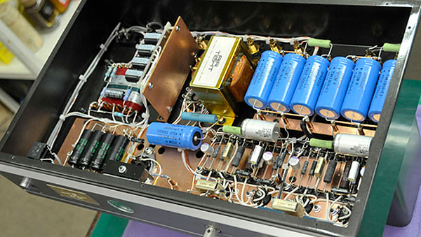AirTight ATM300R, 300B amplifier. Now at True Audiophile.