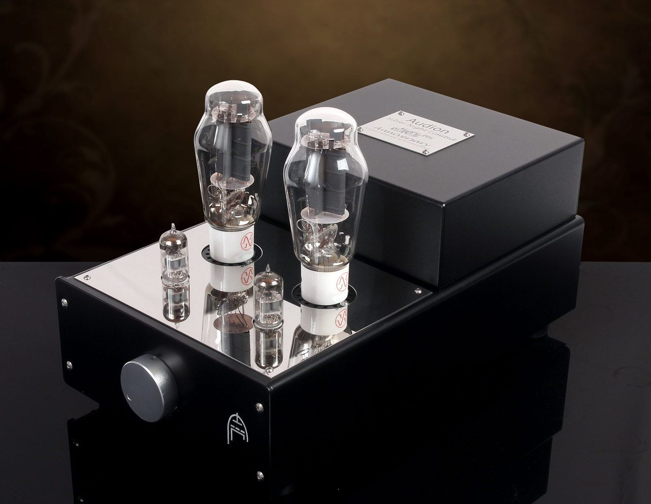 Audion Silver Night 2A3 Anniversary Stereo Hard Wired Amplifier. Now at True Audiophile.