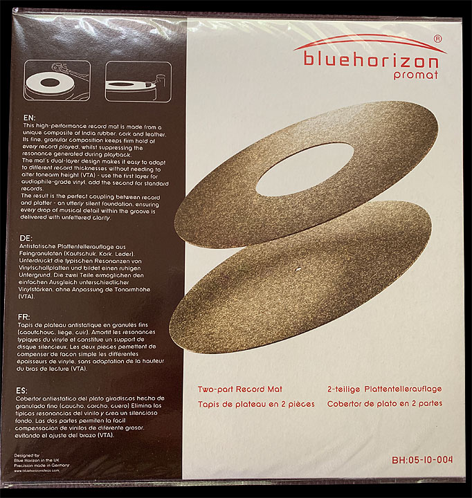 ProMat by Blue Horizon 2 stage Indian Cork and Leather at True Audiophile