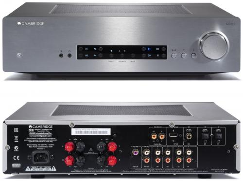 Cambridge Audio CXA60 60W Integrated Amp Silver