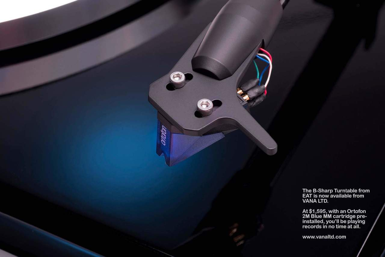 EAT B-Sharp Turntable Ortofon 2M Blue