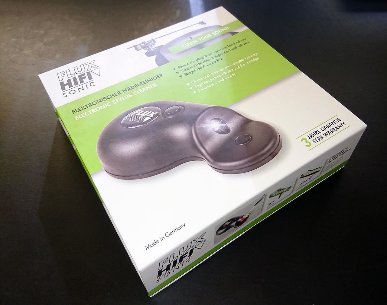 UltraSonic Stylus cleaner by Flux HifI Sonic At True Audiophile