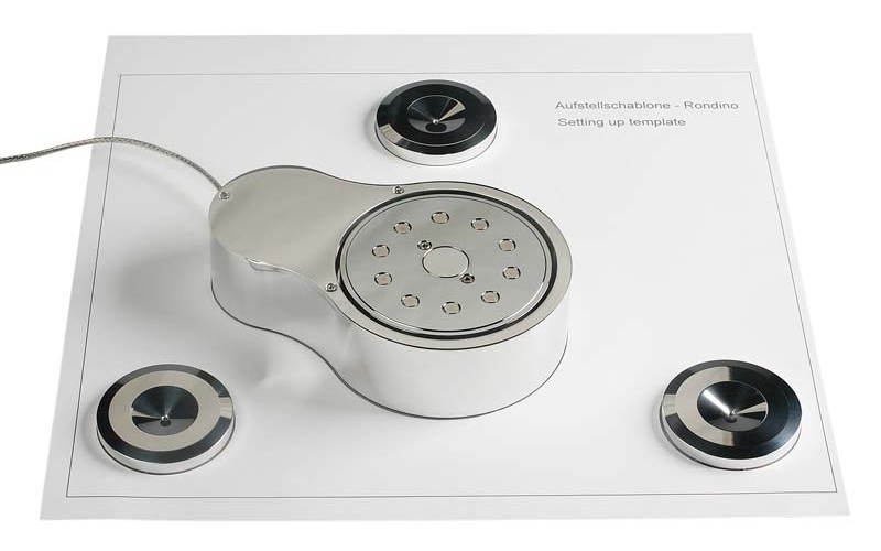 TransRotor Rondino Nero FMD Turntable. Free Magnetic Drive