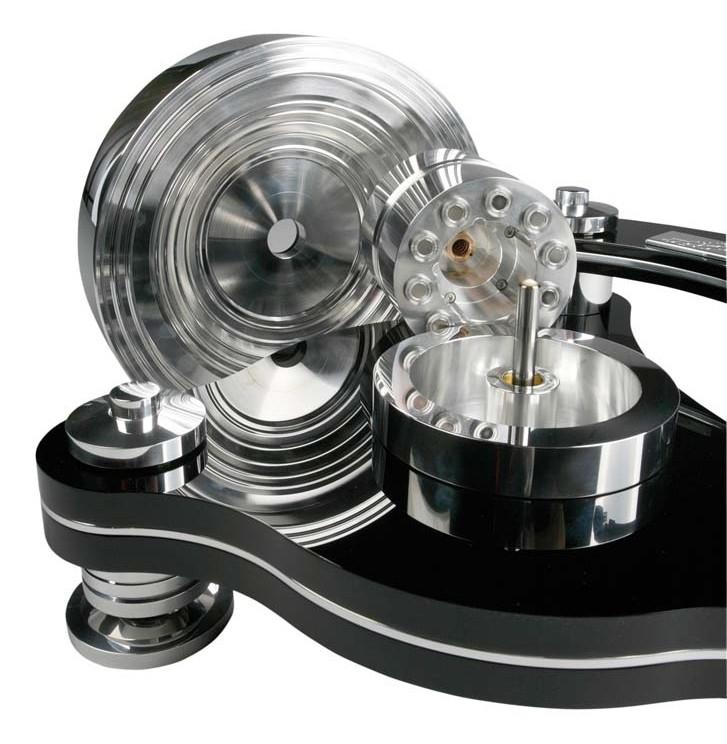 TransRotor Rondino Nero FMD Turntable Assembly.