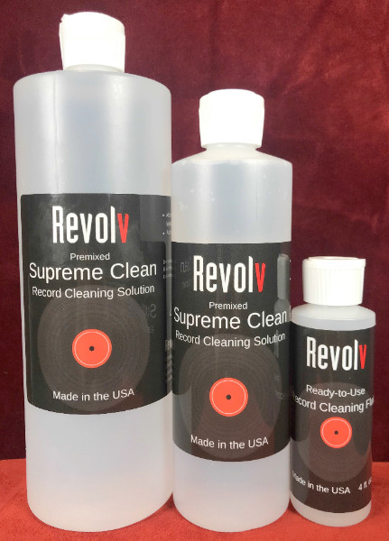 Revolv Supreme Clean Record Cleaning Solution. At True Audiophile.