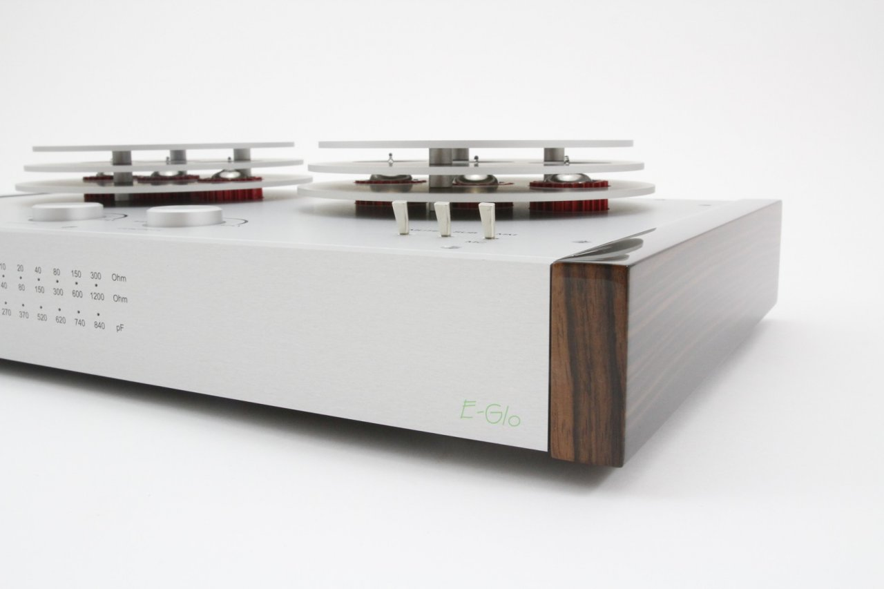 EAT E-Glo Tubed Phono Stage. The New Reference. Now at True Audiophile.