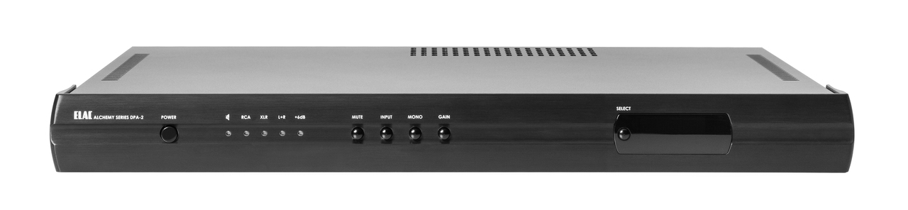 NEW Elac Alchemy 325W Stereo Amp.  Now at True Audiophile.