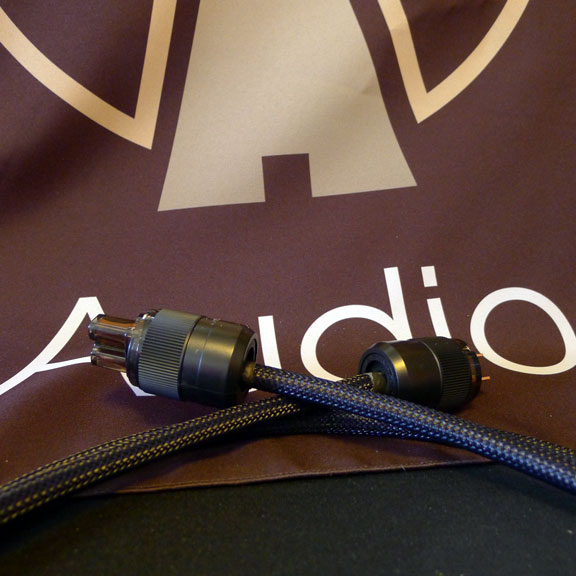 Tru Zen Red Copper Power Cord. Exclusively at True Audiophile.