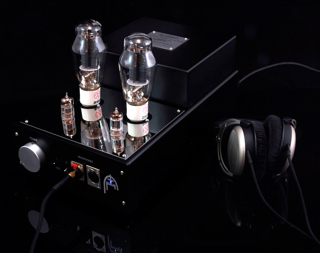 NEW Audion 300B SET Headphone amp and speaker amp. At True Audiophile.