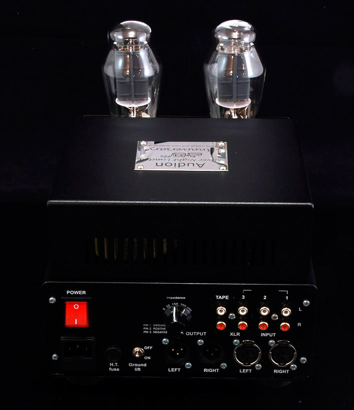 NEW Audion 300B SET Headphone amp and speaker amp. At True Audiophile.