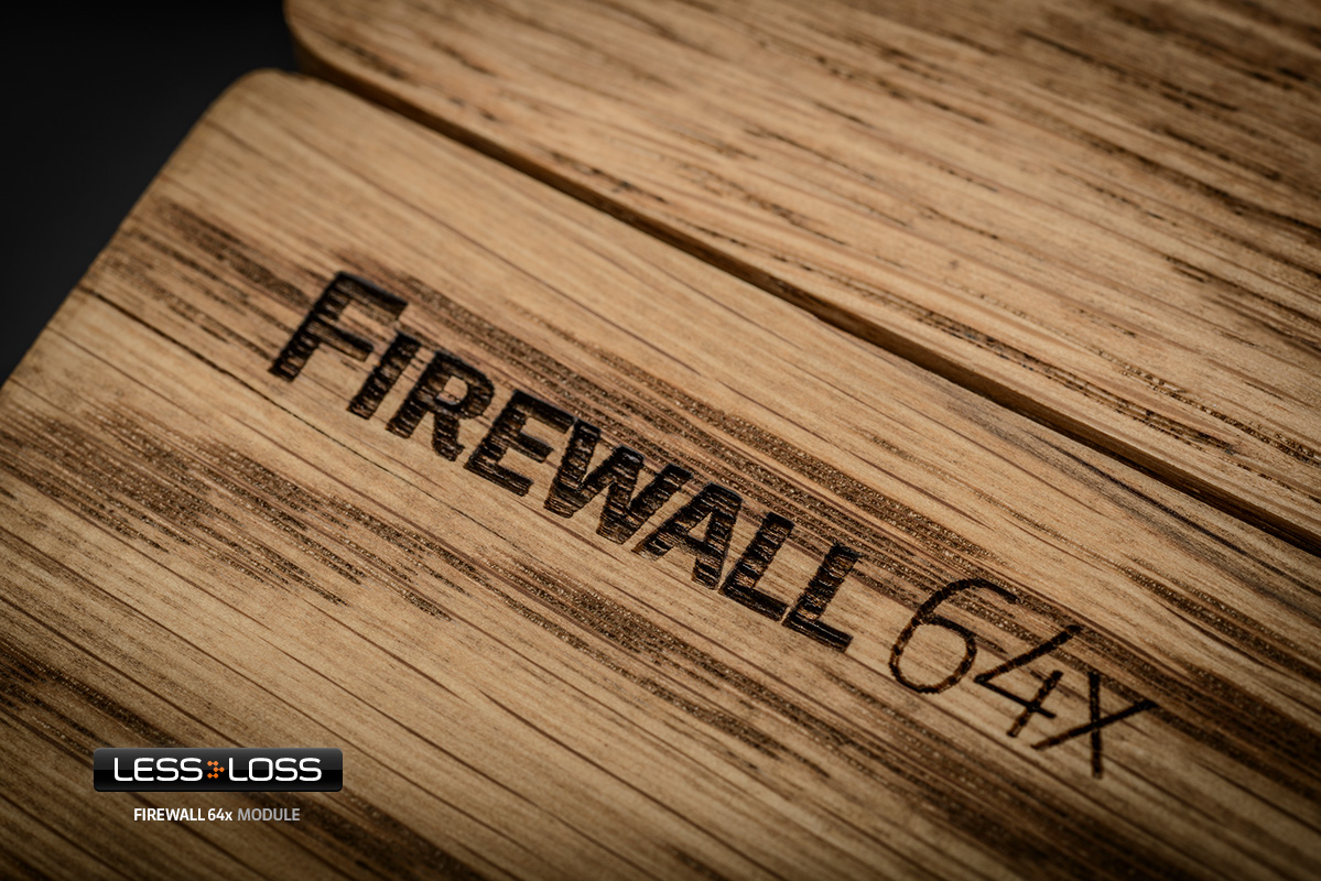 Less Loss 64X Firewall Conditioner. At True Audiophile