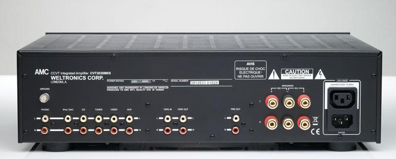 AMC CVT1030MKII Legendary Integrated Tube Amp