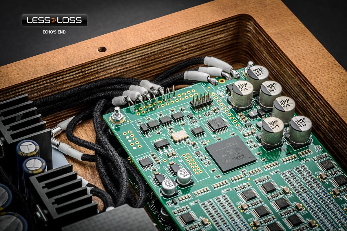 LessLoss Discrete Precision Resistor R-2R Ladder DAC at True Audiophile