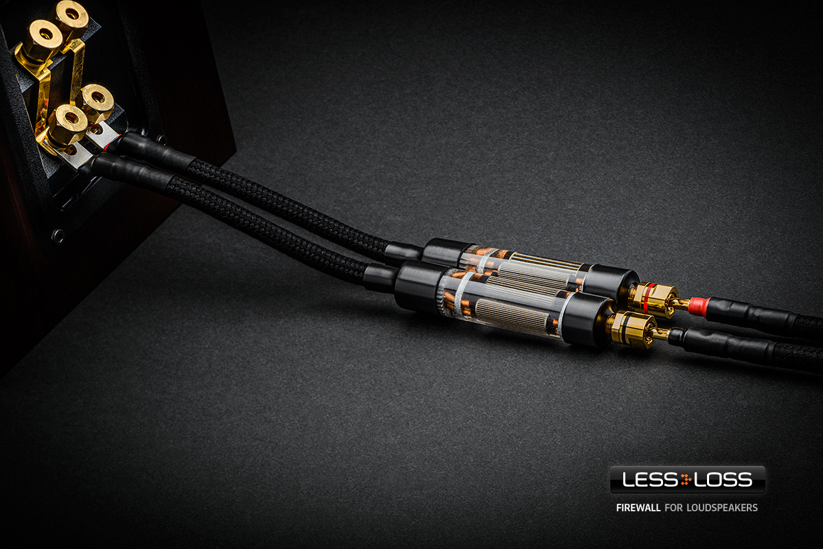 LessLoss Firewall for Speakers. Now at True Audiophile.