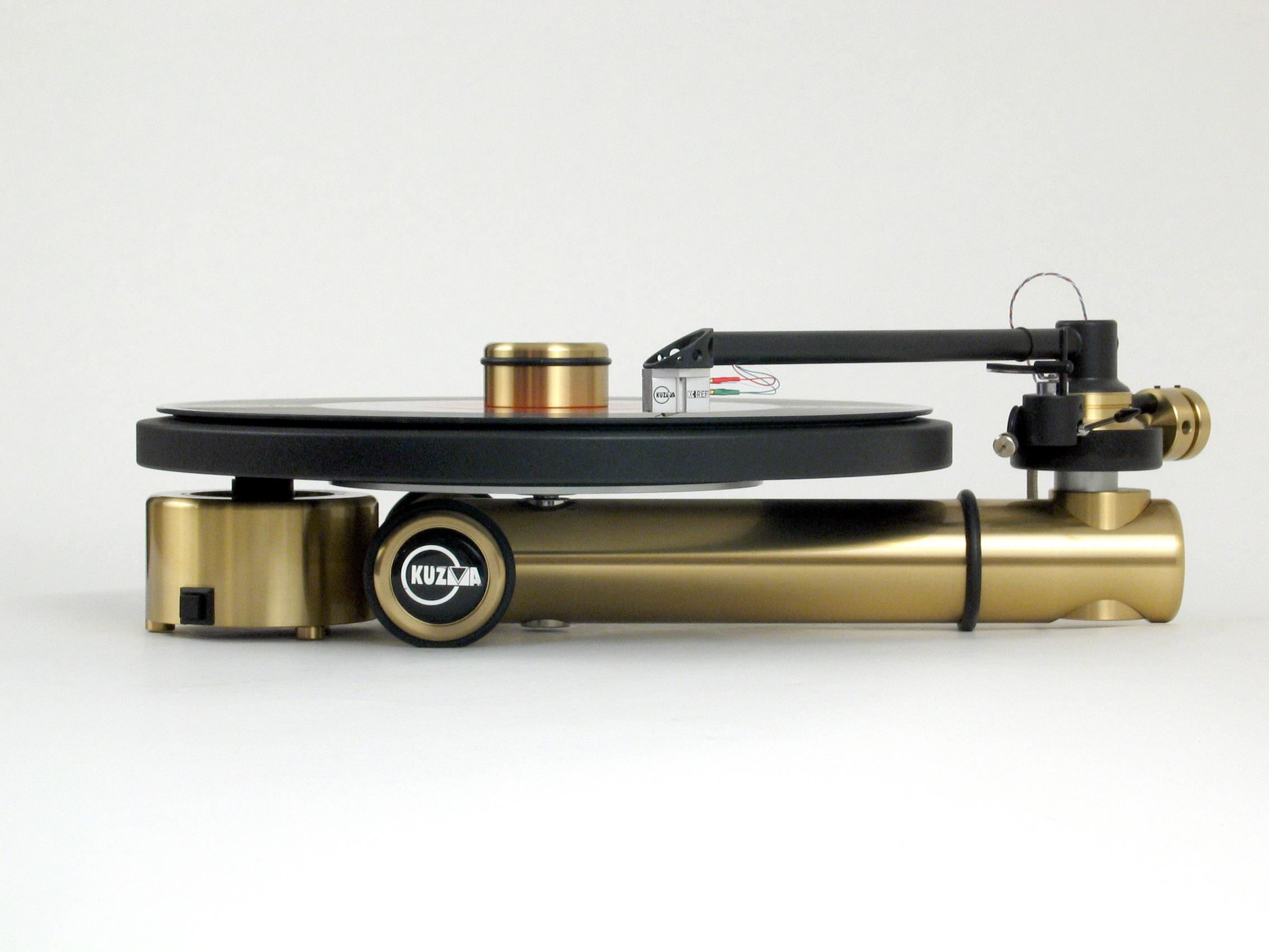 Kuzma Stogi S Turntable at True Audiophile