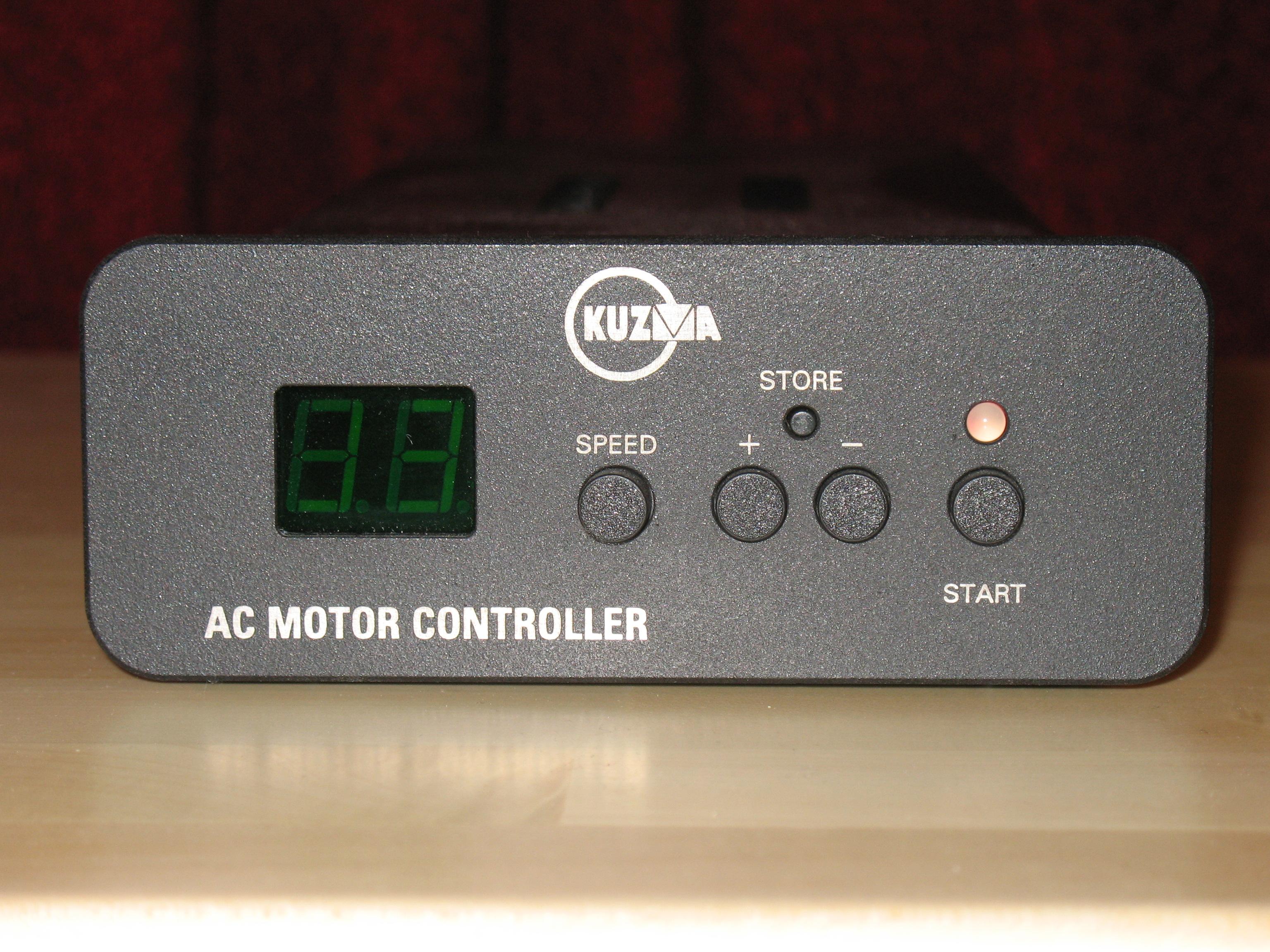 Kuzma Stogi S Turntable Optional Motor Controller at True Audiophile