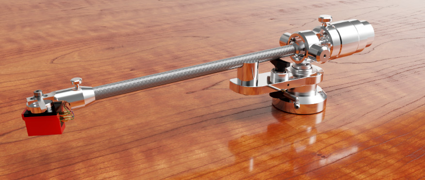 Acoustic Solid WTB-213 Carbon Fiber Tone Arm. Exclusively at True Audiophile.
