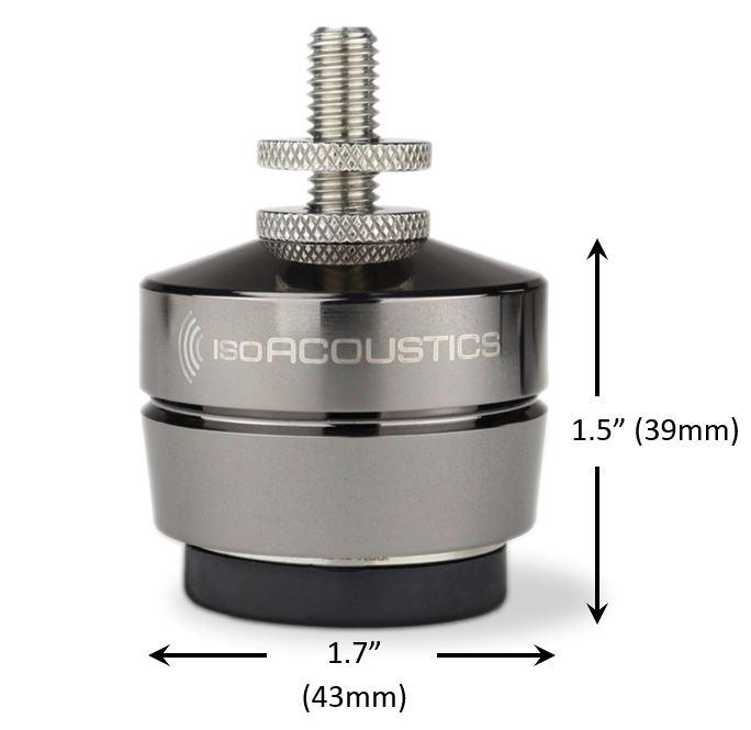 IsoAcoustic Gaia III Speaker Isolating Feet. At True Audiophile.