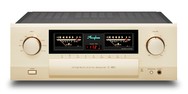 Accuphase E-480. Finest SS Stereo Amp. Period. Now at True Audiophile.