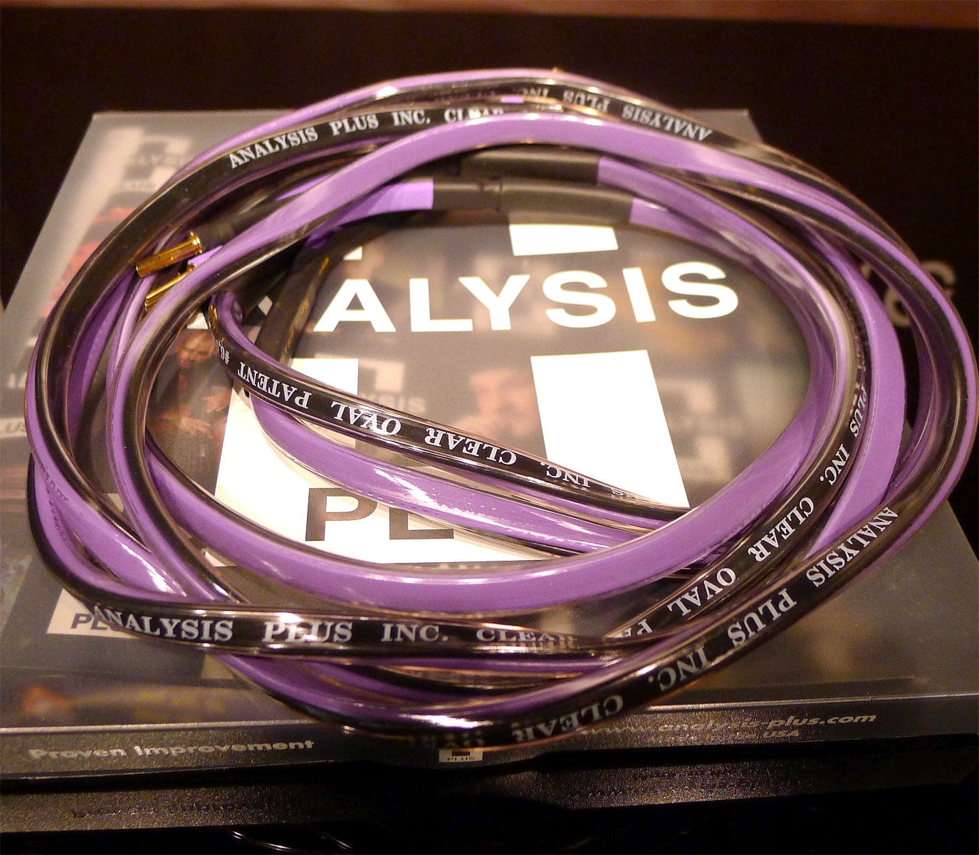 Analysis Plus Clear Oval 6. Demo Sale. At True Audiophile.