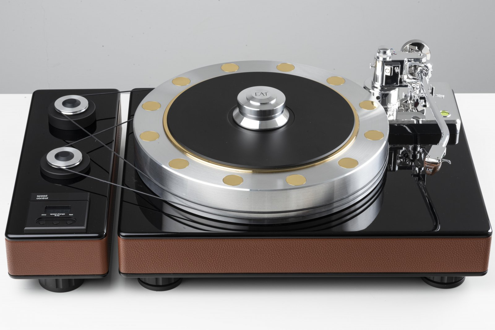EAT Fortissimo Turntable at True Audiophile