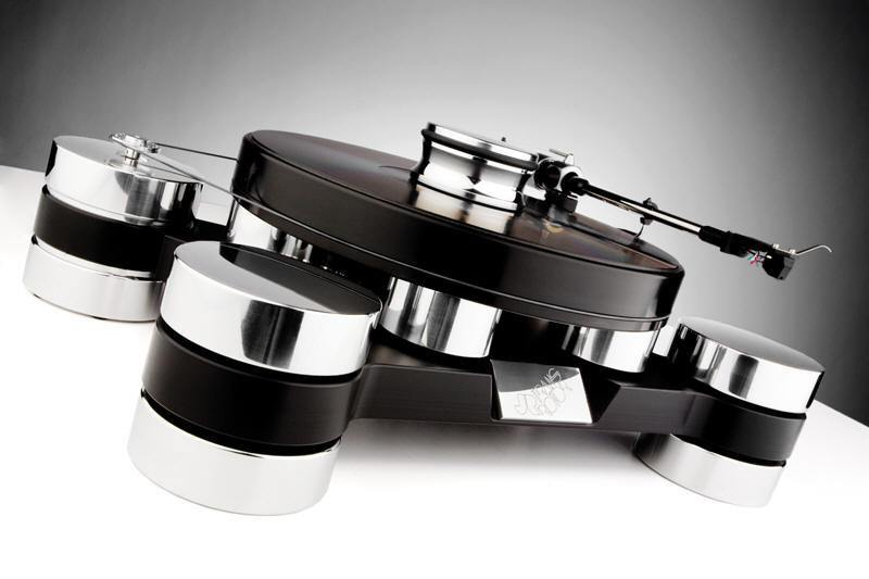 Transrotor Dark Star Silver Shadow Turntable. Now at True Audiophile.