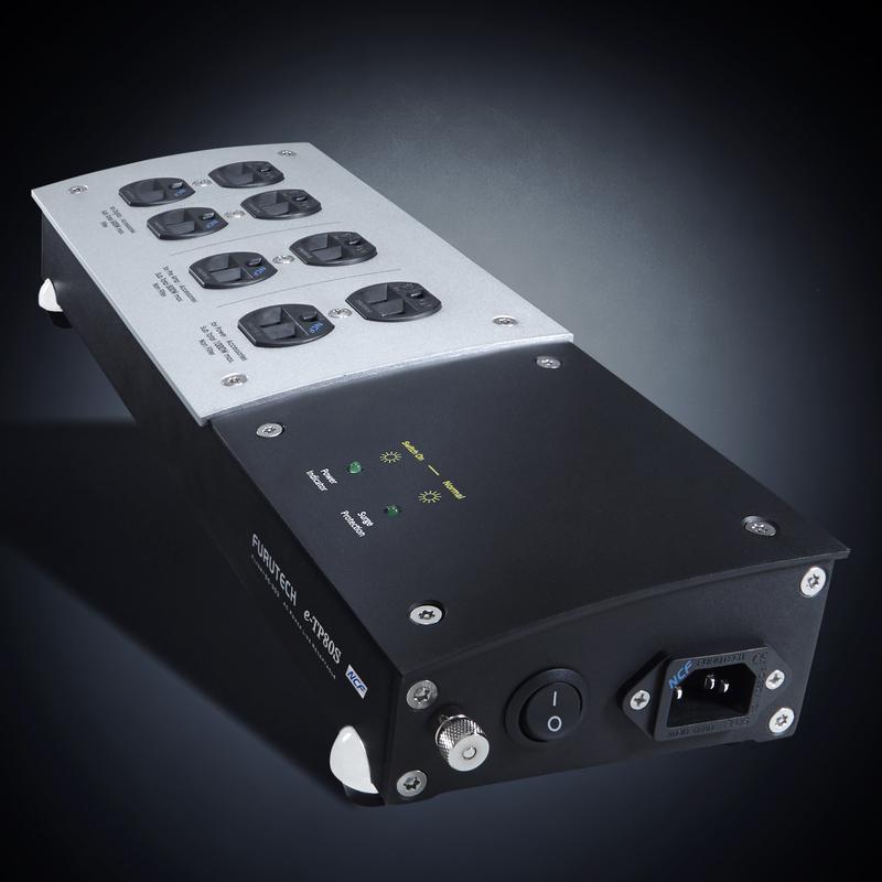 Furutech. e-TP80s +NCF Power Filtering Distribution. True Audiophile