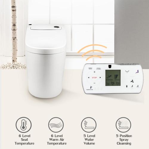 Euroto One-Piece Dual Flush Toilet with Integrated Bidet, Integrated Bidet  and Toilet EUT3828