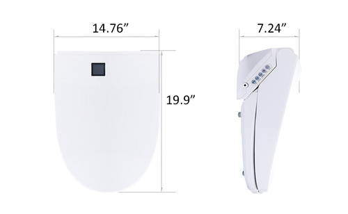 Amazing Premium Euroto Intelligent Smart Toilet Seat Cover Uwap Interior Chair Design Uwaporg