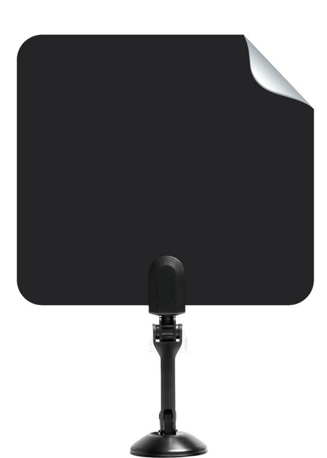 Able Signal INDOOR PAPER THIN FLAT HDTV TV ANTENNA 25 MILES VHF UHF WITH STAND
