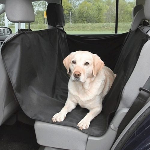 HEAVY DUTY PET DOG CAR SEAT COVER WATERPROOF BACK SEAT BLACK